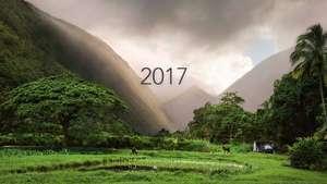 Hawaii-Kalender für das Jahr 2017