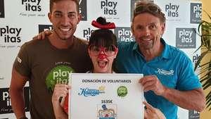 HHT-Guides und das Playitas Resort unterstützen Klinik-Clowns auf Fuerteventura