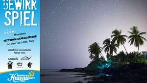 Kona is calling - Hannes Hawaii Tours Gewinnspiel 2018