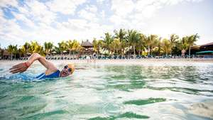 Qualifikation Ironman Cozumel - Swim